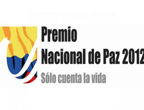 CORPORACIÓN VIDA POSTULADA  AL PREMIO NACIONAL DE PAZ 2012