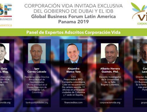 Global Business Forum 2019 Gobierno de Dubai y el BID – Corporación VIDA es invitada exclusiva