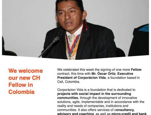 Oscar Ortiz Molano, ahora también es representante de consultora europea Ch Business Consulting