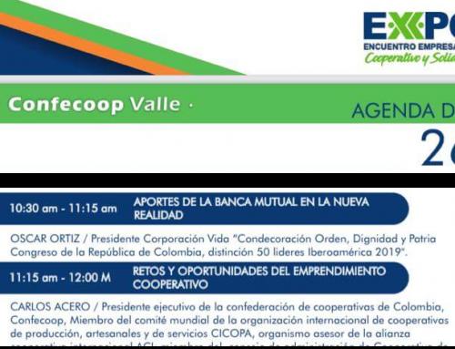 Corporación VIDA invitada especial al Expoencuentro Empresarial Cooperativo y Solidario